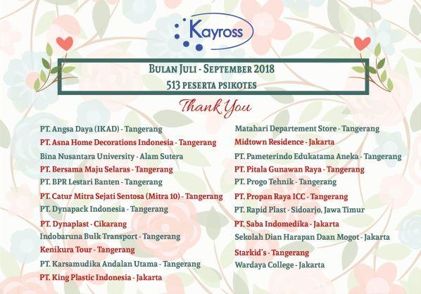 Thank you notes 1 Jul-Sept-01